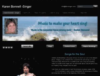 karenbonnell-singer.weebly.com screenshot
