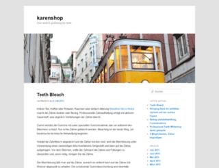 karenfrank.gratisblog.biz screenshot