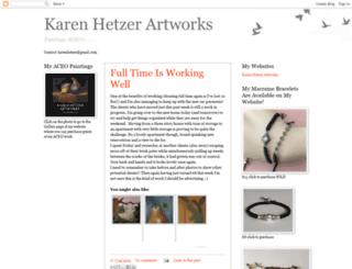 karenhetzerartworks.blogspot.ca screenshot