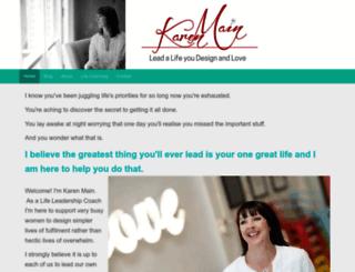 karenmainonline.com screenshot