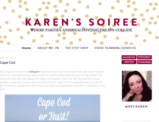karenssoiree.blogspot.com screenshot