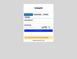 kargotakip.asilkargo.com screenshot