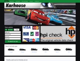 karhouse.co.uk screenshot