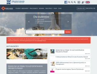kariery.pk.edu.pl screenshot