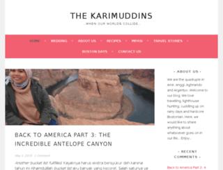 karimuddin.com screenshot