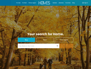 karinmccoy.homesandland.com screenshot