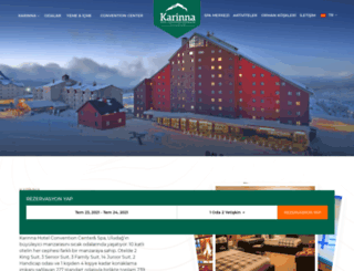karinnahotel.com screenshot