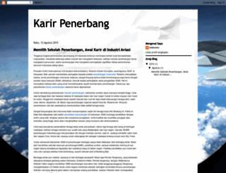karir-penerbang.blogspot.com screenshot