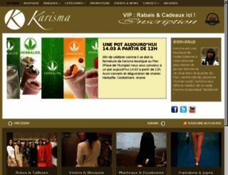 karisma-fashion.com screenshot