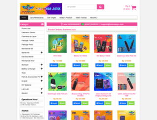 karismajaya.com screenshot