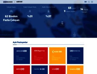 kariyer.sabanci.com screenshot
