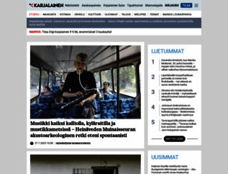 karjalainen.fi screenshot