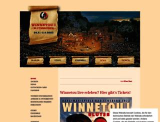 karl-may-spiele.de screenshot