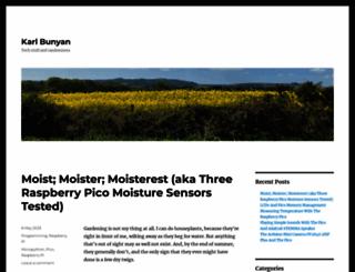 karlbunyan.co.uk screenshot