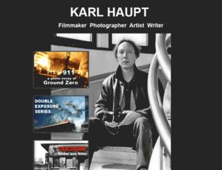 karlhaupt.com screenshot