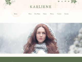 karliene.com screenshot