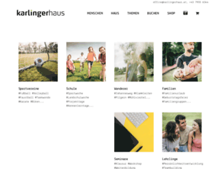 karlingerhaus.com screenshot