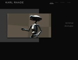 karlraade.com screenshot
