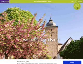 karlsruhe-tourism.de screenshot