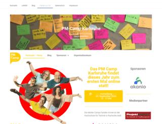 karlsruhe.pm-camp.org screenshot