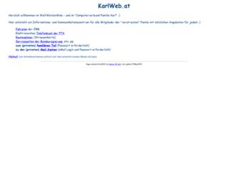 karlweb.at screenshot