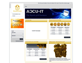 karma-aurum777.securitas-aurum.com screenshot