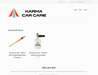 karmacarcare.com screenshot
