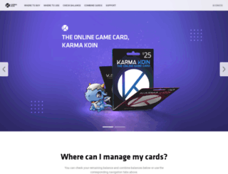 karmakoin.com screenshot