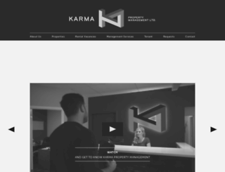 karmaproperties.ca screenshot