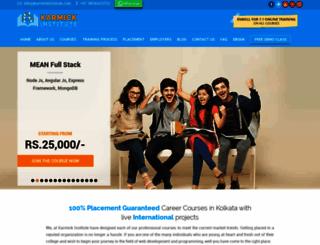 karmickinstitute.com screenshot
