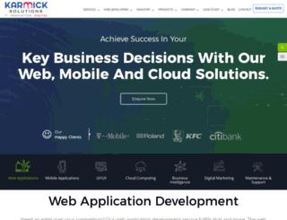karmicksolutions.com screenshot