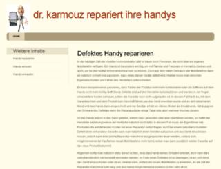 karmouzhospital.org screenshot