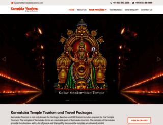 karnatakatempletourism.com screenshot