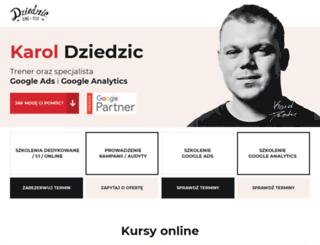 karoldziedzic.pl screenshot