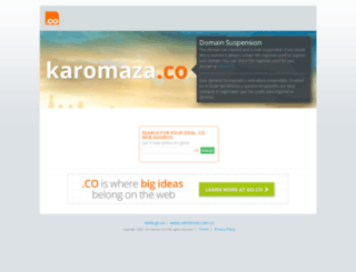 karomaza.co screenshot