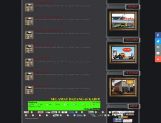 karoseri-truckdump.blogspot.com screenshot