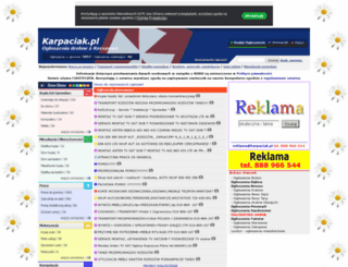 karpaciak.pl screenshot