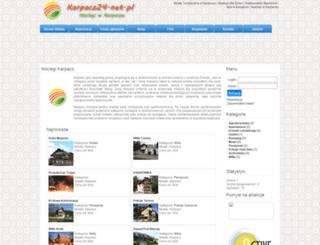 karpacz24.net.pl screenshot