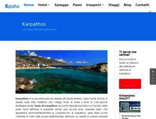 karpathos.it screenshot