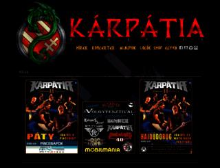 karpatiazenekar.hu screenshot