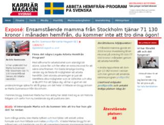 karriar-magazine.com screenshot