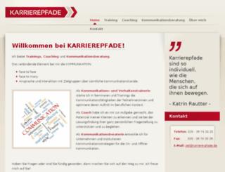 karriere-pfade.de screenshot