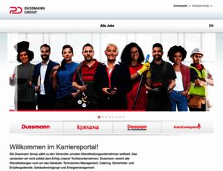 karriere.dussmanngroup.com screenshot