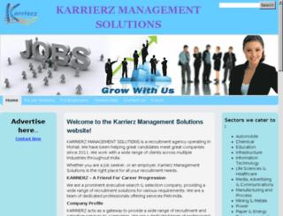 karrierz.com screenshot