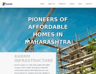 karrminfra.com screenshot