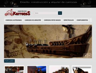 karrozas.com screenshot