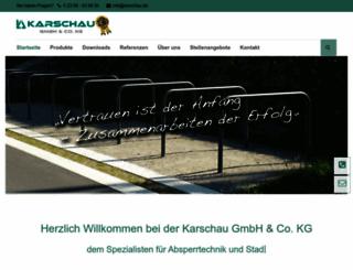 karschau.de screenshot
