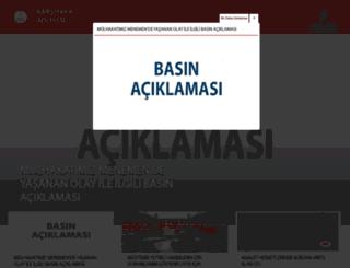 karsiyaka.adalet.gov.tr screenshot