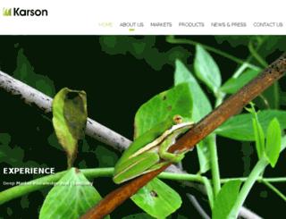 karsonmanagement.com screenshot