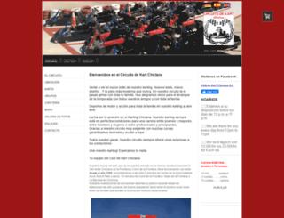 kart-chiclana.es screenshot